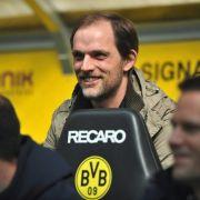 Der Schein trügt. Auf diesem Schnappschuss vom April 2013 war Thomas Tuchel noch Trainer beim FSV Mainz 05. Doch die Zeichen stehen auf Schwarz-Gelb...