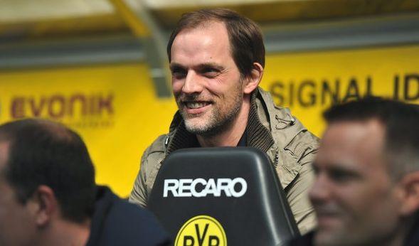 Der Schein trügt. Auf diesem Schnappschuss vom April 2013 war Thomas Tuchel noch Trainer beim FSV Mainz 05. Doch die Zeichen stehen auf Schwarz-Gelb... (Foto)