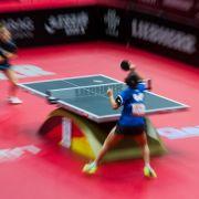 Solja und Fang Bo verlieren Mixed-Halbfinale bei Tischtennis-WM (Foto)