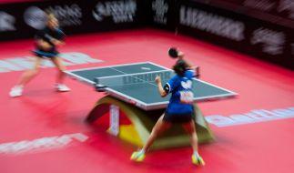 Bei der Tischtennis-WM 2017 stehen spannende Partien bevor. (Foto)