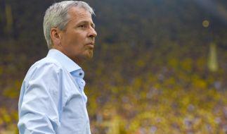 Lucien Favre wurden Berichten zufolge beim BVB entlassen. (Foto)