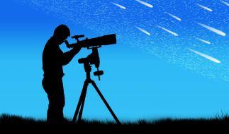 Sternschnuppen, Riesenplaneten und Mini-Mond: Das wartet im Juni auf Hobbyastronomen. (Foto)