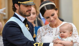 Das zweite Kind von Prinzessin Sofia und Prinz Carl-Philip von Schweden soll im September zur Welt kommen. (Foto)