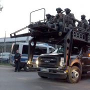 Scharfe Waffen von Polizei sichergestellt (Foto)