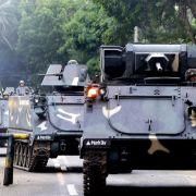 Schüsse und Feuer in Hotelkomplex in Manila (Foto)
