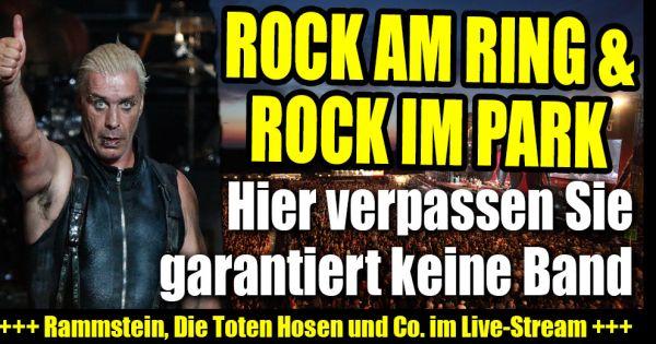 rock am ring live im tv