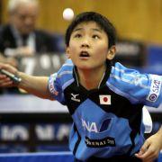Tischtennis-Wunderkind fliegt im Viertelfinale raus! Alle weiteren Matches hier (Foto)