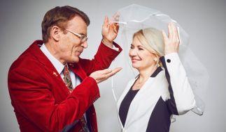 """Ex-Dauersingle Walther (57+) aus Berlin will hier seine Verlobte Marta aus Rumänien heiraten. Doch wird Marta auch """"Ja"""" sagen? (Foto)"""