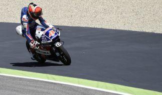 Der italienische Moto3-Fahrer Fabio Di Giannantonio beim Mugello-GP im Jahr 2016. (Foto)