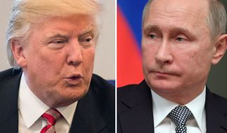 Donald Trump und Wladimir Putin. (Foto)