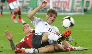 2012 mussteDeutschland bereitsgegen Dänemark auf den Platz. (Foto)
