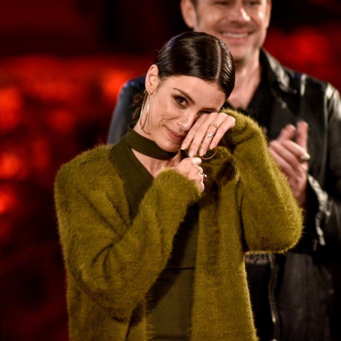 Zu Tränen gerührt! Lena Meyer-Landrut beim Tauschkonzert (Foto)