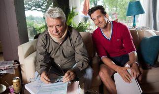 """Florian David Fitz und Henry Hübchen in """"Da geht noch was"""". (Foto)"""