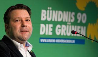 Einer der beiden wiedergewählten Landesvorsitzenden der niedersächsischen Grünen, Stefan Körner. (Foto)