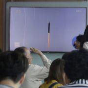 Lage verschärft sich! Kim Jong-un Nordkorea testet Marschflugkörper (Foto)