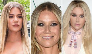 Das war nicht die beste Woche für die Promi-Blondinen Khloe Kardashian, Gwyneth Paltrow und Kesha. (Foto)