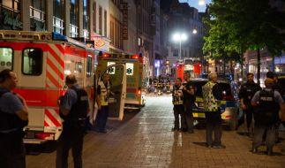 Bei einer Messerstecherei in Wiesbaden wurde ein Mann getötet, zwei Personen wurden verletzt. (Foto)