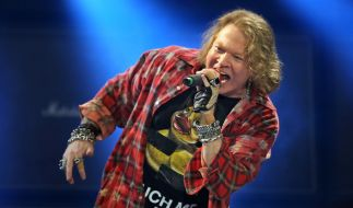 "Axl Rose ist seit 1985 Frontmann der ""Guns N' Roses"". (Foto)"