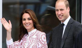 Prinz William und Herzogin Kate kommen nach Deutschland. (Foto)
