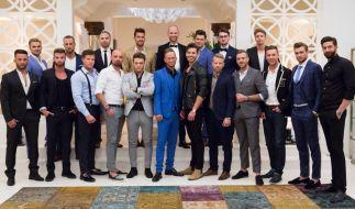 """20 attraktive Single-Männer buhlen in """"Die Bachelorette"""" 2017 um das Herz von Jessica Paszka. (Foto)"""