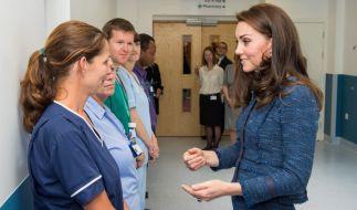 Dieses Bild soll angeblich Kates Babybauch zeigen. (Foto)