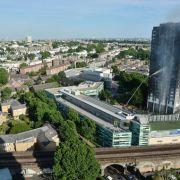Zahl der Toten nach Hochhausbrand steigt auf 17 (Foto)