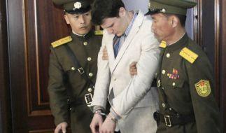 Otto Warmbier brach bei seiner Verurteilung zusammen. (Foto)
