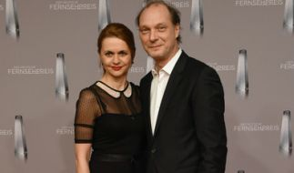 Schauspieler Martin Brambach mit Schauspielerin Christine Sommer. (Foto)