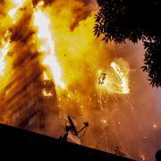 Polizei vermutet 58 Todesopfer in London (Foto)