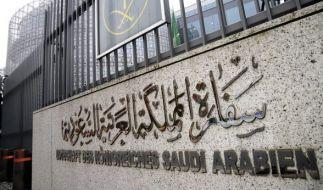 Die Botschaft von Saudi Arabien in Berlin. (Foto)