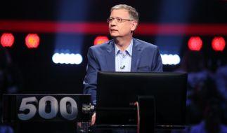 """Günther Jauch moderiert """"500 - Die Quizarena"""". (Foto)"""
