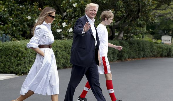 Melania Trump überfordert