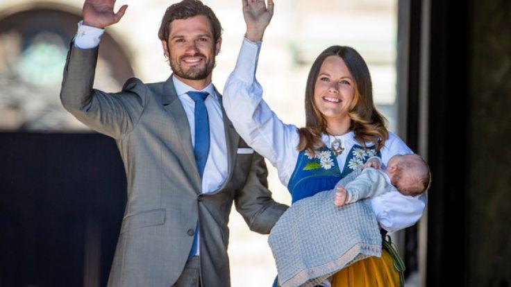 Große Sorge um Prinzessin Sofia von Schweden: Die zweite Schwangerschaft soll ihr schwer zusetzen. (Foto)