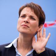 Staatsanwaltschaft will Immunität von Frauke Petry aufheben lassen (Foto)