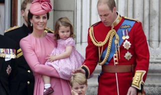 Herzogin Kate hat fast immer Prinzessin Charlotte auf dem Arm. (Foto)