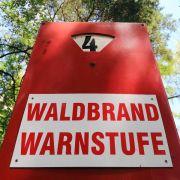 Achtung! Rauch- und Grillverbot wegen extremer Waldbrandgefahr (Foto)