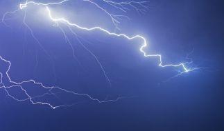 Der Deutsche Wetterdienst warnt vor schweren Unwettern. (Foto)