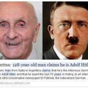 Südamerikaner (128) behauptet Adolf Hitler zu sein (Foto)