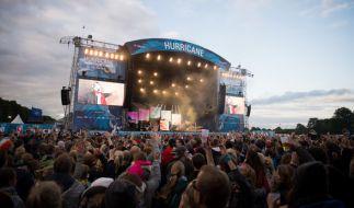 """Das """"Hurricane""""-Festival lockt dieses Jahr wieder Tausende Besucher an. (Foto)"""