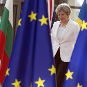 May legt erstes Angebot für britischen EU-Austritt vor (Foto)