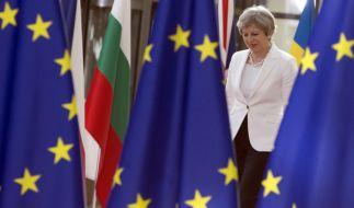 Theresa May hat beim EU-Gipfel in Brüssel konkrete Vorschläge für den Brexit gemacht. (Foto)