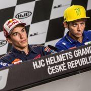 Valentino Rossi gewinnt Regen-Thriller der MotoGP - Folger stürzt (Foto)