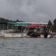 Mindestens 9 Tote nach Schiffsunglück auf Stausee (Foto)