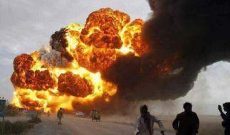 Eine Tanklaster-Explosion kostete mindestens 153 Menschen das Leben. (Foto)