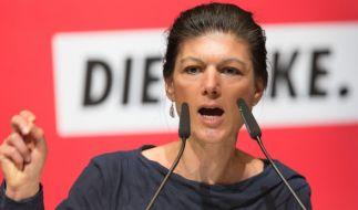 Sahra Wagenknecht, die Fraktionsvorsitzende der Linken, hat das Wahlprogramm der SPD scharf kritisiert. (Foto)