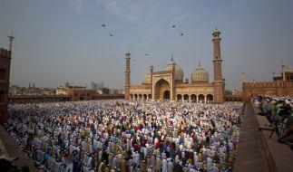Der Fastenmonat Ramadan geht mit dem Zuckerfest zu Ende. (Foto)