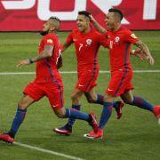 Chile steht nach Elfmeter-Krimi gegen Portugal im Finale (Foto)