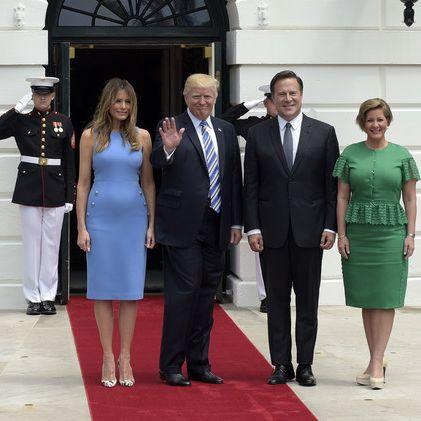 Hat die Gattin von Donald Trump etwa einen Babybauch? (Foto)