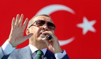 Der türkische Präsident Erdogan plant erneut eine Großdemo seiner Anhänger. (Foto)