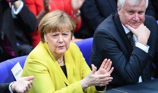 Horst Seehofer attackiert Kanzlerin Merkel wegen Homo-Ehe. (Foto)